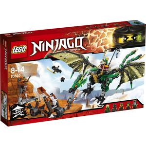 Конструктор Lego Зелёный Дракон (70593)