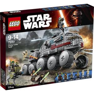 Конструктор Lego Турботанк Клонов (75151) цена