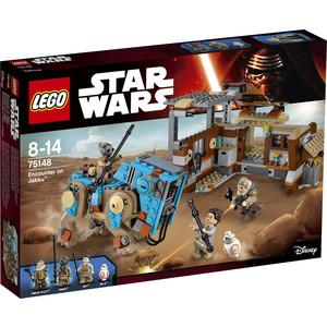 все цены на Конструктор Lego Star Wars Звездные войны Столкновение на Джакку онлайн
