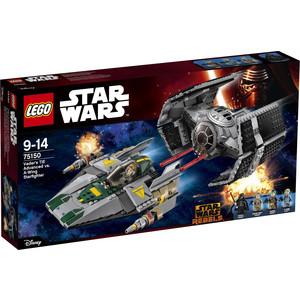 Конструктор Lego Усовершенствованный истребитель СИД Дарта Вейдера против Звёздного Истребителя A-Wing (75150)