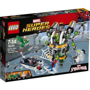 Конструктор Lego Человек-паук : В ловушке Доктора Осьминога (76059)
