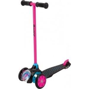 Самокат 3-х колесный Razor Трёхколёсный T3 розовый (083802) самокат для детей razor b120 razor