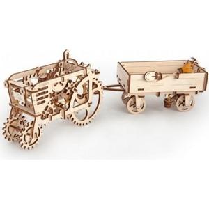 Конструктор 3D-пазл Ugears Прицеп к трактору (70006)