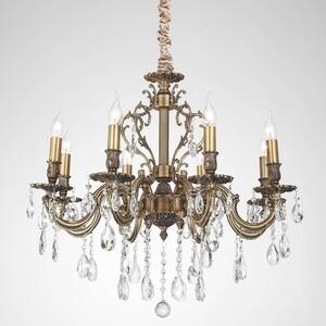 Купить подвесная люстра Lucia Tucci Barletta 1730.8 Antique (560272) в Москве, в Спб и в России