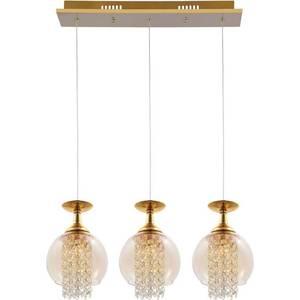 Подвесной светильник Crystal Lux Chik SP3 Gold от ТЕХПОРТ
