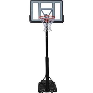 Баскетбольная мобильная стойка DFC STAND44PVC1 110x75 см с винтовой регулировкой баскетбольная мобильная стойка dfc stand54g 136x80cm стекло