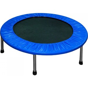 Батут DFC Trampoline Fitness 50 дюймов без сетки (125 см) hexagonal jumping fitness trampoline with handrail