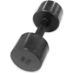 Гантель обрезиненная Barbell (с обрезиненной ручкой) - черная, 7 кг