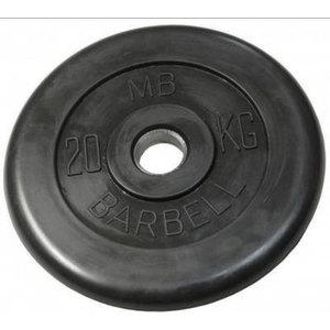 Диск обрезиненный Barbell 31 мм 20 кг