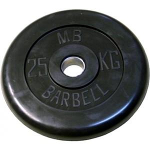 Диск обрезиненный Barbell 31 мм 25 кг