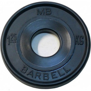 Диск обрезиненный Barbell 1,25кг евро-классик fitness barbell power necklace