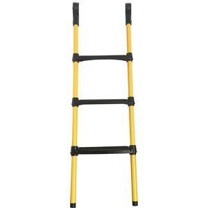 Лестница для батута DFC 12-16 футов (три ступеньки) желтая (GC3-LP)