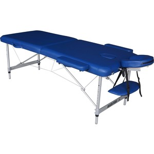 Массажный стол DFC Nirvana elegant lux, 186х70х4 cm (алюминиевые ножки, голубой)