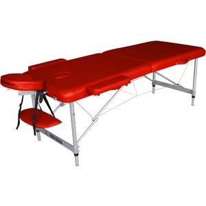 Массажный стол DFC Nirvana elegant optima, 186х60х4 cm (алюминиевые ножки, красный) чэн юэ палец нажимной тарелки спортивный инвентарь массажный стол большой размер красный