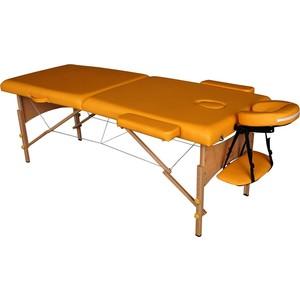Массажный стол DFC Nirvana Relax (деревяные ножки, горчичный) велотренажер dfc b8719rp горизонтальный