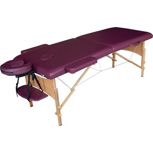 Массажный стол DFC Nirvana Relax (деревяные ножки, сливовый)