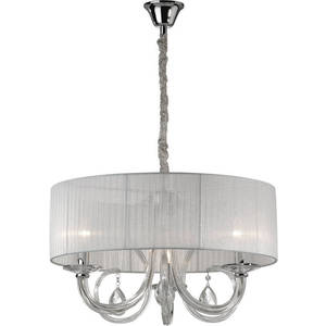 Подвесная люстра Ideal Lux SWAN SP3 BIANCO ideal lux люстра ideal lux queen sp3