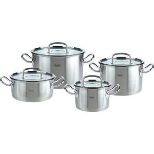 Набор посуды 4 предмета Fissler Original-profi collection (8412604) twice sana autographed signed original photo signal 4 6 inches collection freeshipping 012017