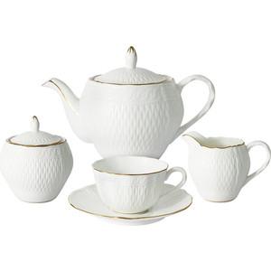 Чайный сервиз 15 предметов на 6 персон Colombo Бьянка (C2-TS/15-K4815AL)