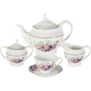Чайный сервиз 15 предметов на 6 персон Primavera Свежий ветер (PW-15-336D-AL)