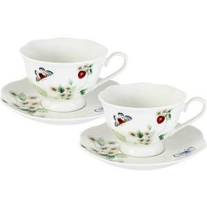 Чайный набор 4 предмета на 2 персоны Primavera Ягодная поляна (PW-15-344B-AL)