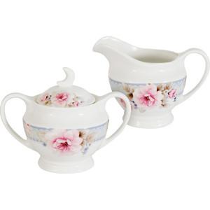 Набор сахарница и молочник Primavera Розовый блюз (PW-YT02-112-AL)