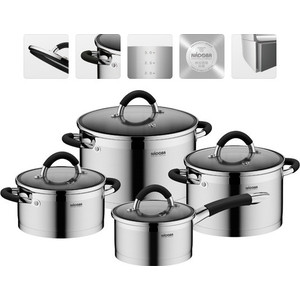 Набор посуды 8 предметов Nadoba Olina (726419)