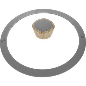 Крышка с силиконовым ободком d 20 см Nadoba Mineralica (751215) сотейник d 28 см nadoba mineralica 728415
