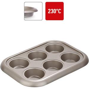 Форма для 6 маффинов 29,4х21х3,5 см Nadoba Rada (761016) форма для кекса 28х17 5х6 см nadoba rada 761012