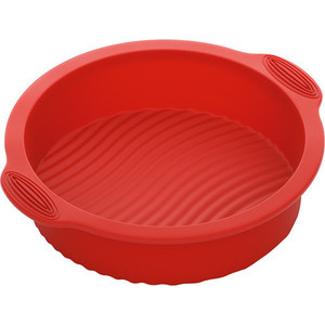 Форма для выпечки круглая 28х25х6 см Nadoba Mila (762011) форма круглая для пирога 32х3 см nadoba rada 761020