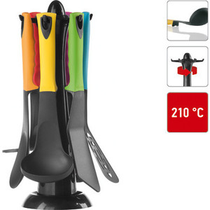 Набор кухонных инструментов 7 предметов Nadoba Flava (721623) шумовка nadoba flava 721611