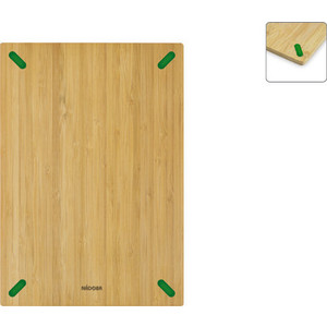 Разделочная доска из бамбука Nadoba Stana (722011) nadoba пластиковая разделочная доска 36 5 26 5 см