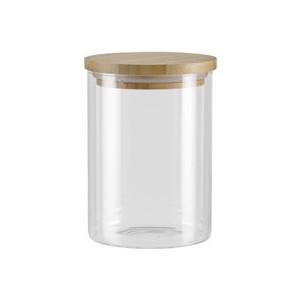 Ёмкость для сыпучих продуктов с крышкой из бамбука 0,7 л Nadoba Vilema (741512) емкость для сыпучих продуктов nadoba vilema 1 л