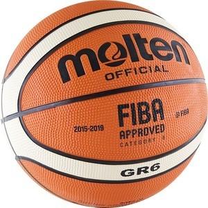 Мяч баскетбольный Molten BGR6-OI (р. 6)  molten bgh6x размер 6