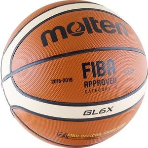 Мяч баскетбольный Molten BGL6X (р. 6) официальный мяч FIBA  molten bgh6x размер 6