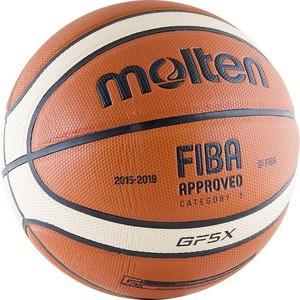 Мяч баскетбольный Molten BGF5X (р. 5) мяч баскетбольный molten bgr7 vy р7
