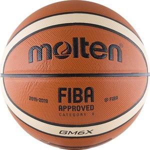 Мяч баскетбольный Molten BGM6X (р. 6)  molten bgh6x размер 6