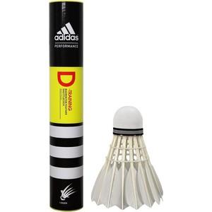 Воланы для бадминтона Adidas D-Training-78 (перо, средняя скорость)