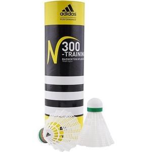 Воланы для бадминтона Adidas Training-Slow (нейлон/пробка, медленная скорость)