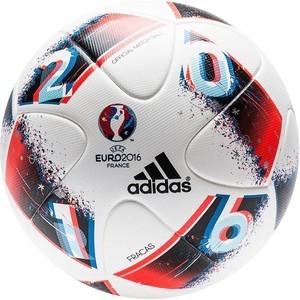 Мяч футбольный Adidas Fracas EURO 2016 OMB (р. 5) (белый)