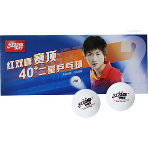 Мяч для настольного тенниса DHS CF40B (10шт, белый) dhs hurricane long iii off table tennis blade shakehand for pingpong racket