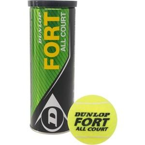 Мячи теннисные Dunlop Fort All Court мячи теннисные wilson tour clay red wrt110800