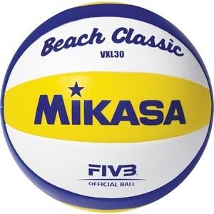 Мяч для пляжного волейбола Mikasa VXL30 (р. 5) цена и фото