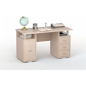 Стол компьютерный ВасКо ПС 40-07 Дуб молочный письменный стол васко соло 021
