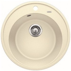 Мойка кухонная Blanco RIONA 45 Silgranit жасмин (521399) кухонная мойка blanco sona 5s silgranit шампань
