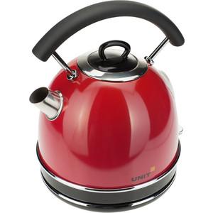 Чайник электрический UNIT UEK-261, красный