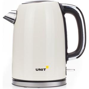 Чайник электрический UNIT UEK-264, бежевый недорого