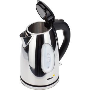 Чайник электрический UNIT UEK-265, сталь (глянцевый)