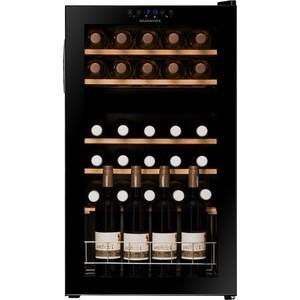 Винный шкаф Dunavox DX-30.80DK винный шкаф dunavox dat 6 16 c