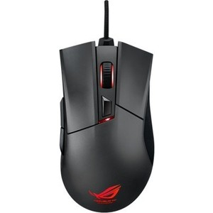 Игровая мышь Asus ROG Gladius Black USB asus rog gl502vs black gl502vs gz415t